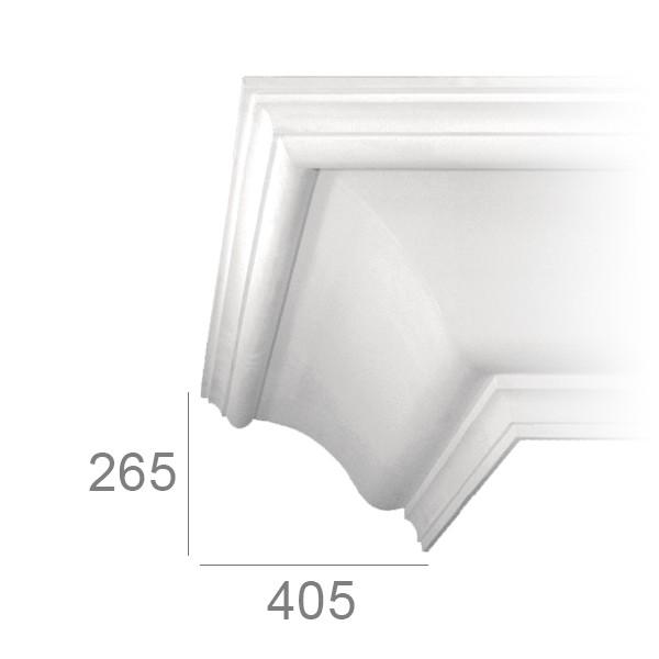 Ceiling cornice 419