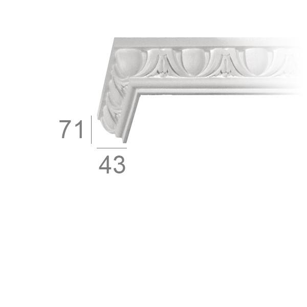 Ceiling cornice 127