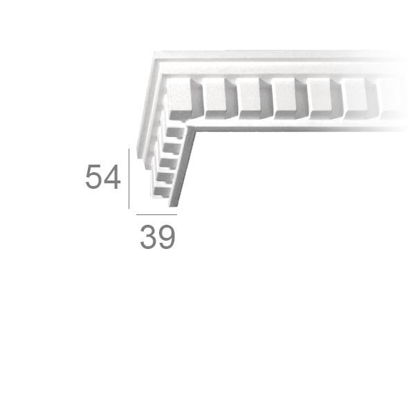 Ceiling cornice 137