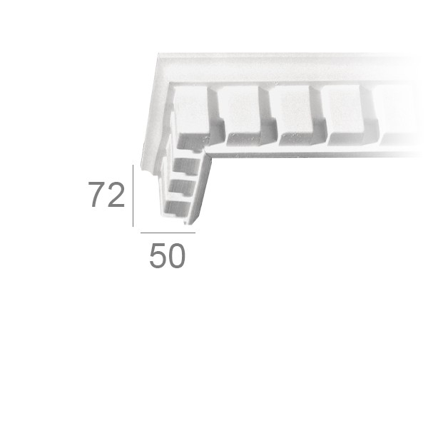 Ceiling cornice 137A