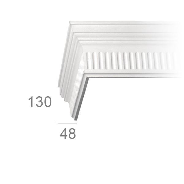 Ceiling cornice 346