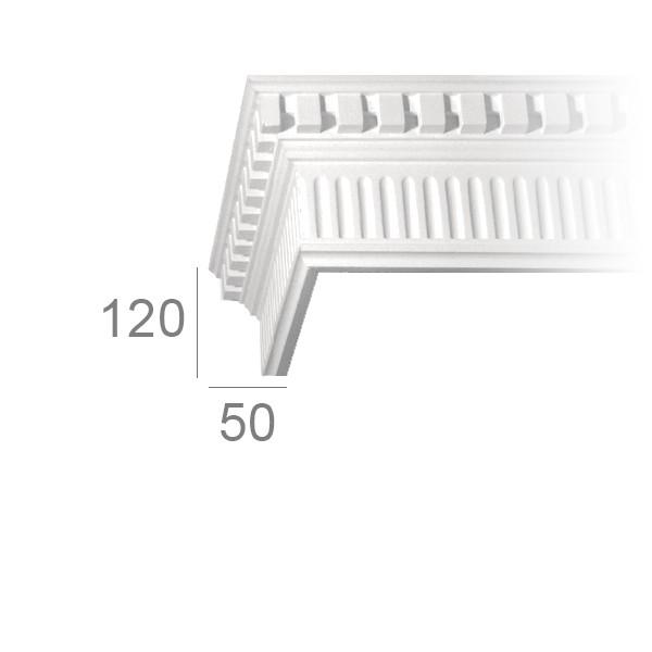 Ceiling cornice 347