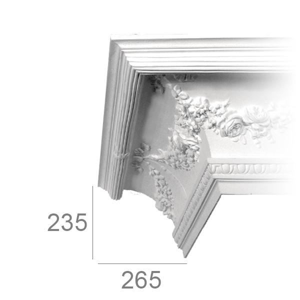Ceiling cornice 422