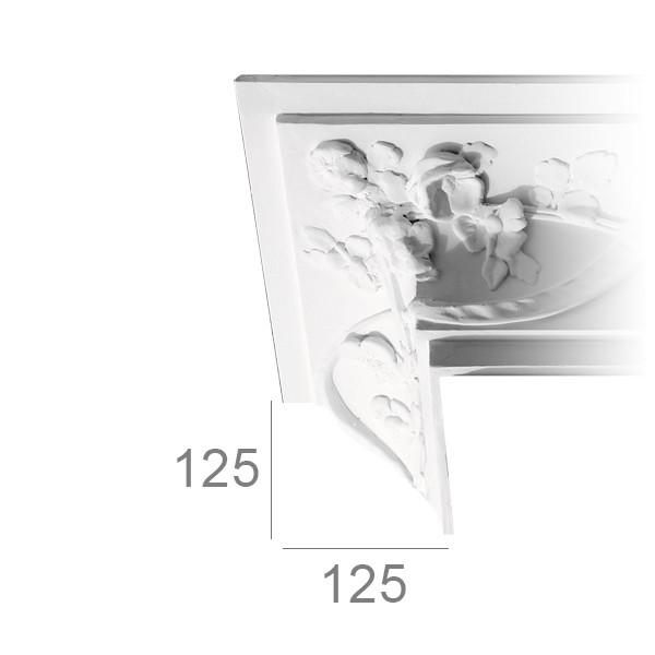 Ceiling cornice 455