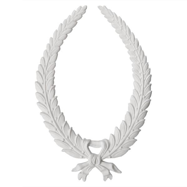 Ornement 279 grande couronne de lauriers