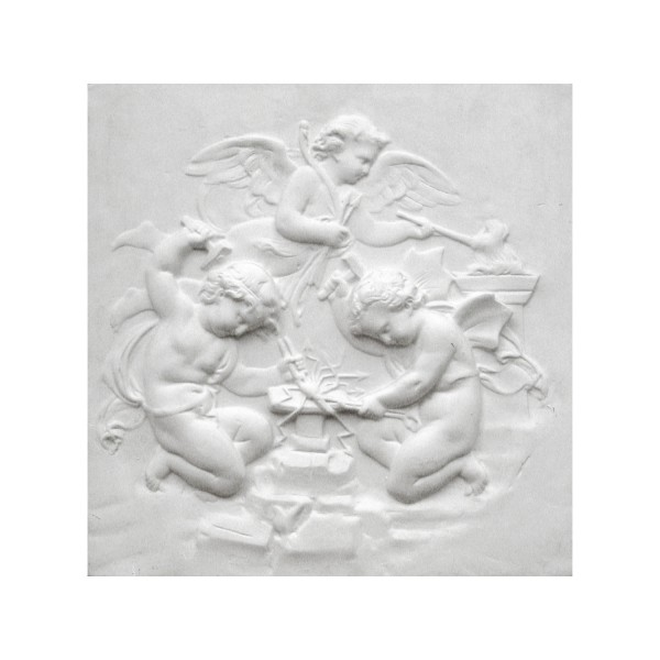 "Bas-relief 1001 ""Angelots forgerons"""