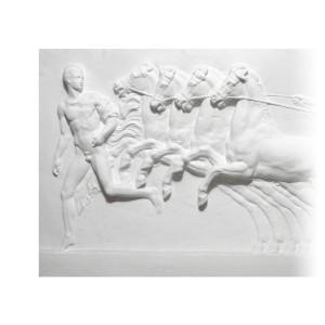 """Bas-relief 1002 """"Quadrige romain"""""""