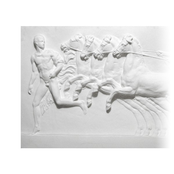 "Bas-relief 1002 ""Quadrige romain"""