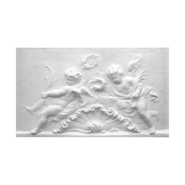 """Bas-relief 1005 """"Angelot à la coquille"""""""