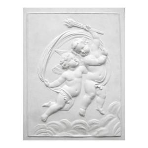 """Bas-relief 1007 """"Angelots qui dansent"""""""