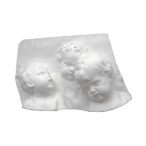 """Bas-relief 1006 """"Les trois chérubins"""""""