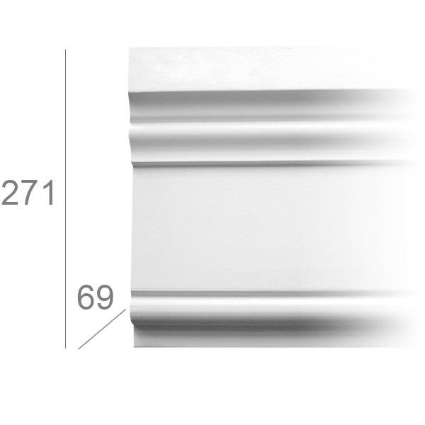 Gevel sierlijst 3008