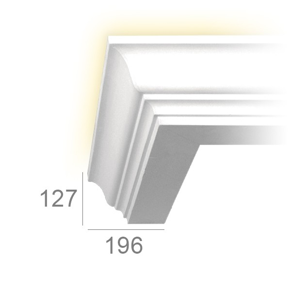 Corniche lumineuse 123