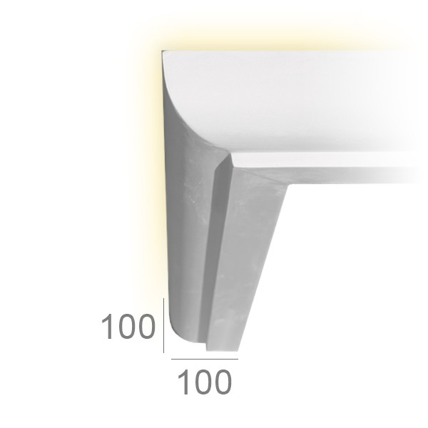 Lighting cornice 131A LUMMUS