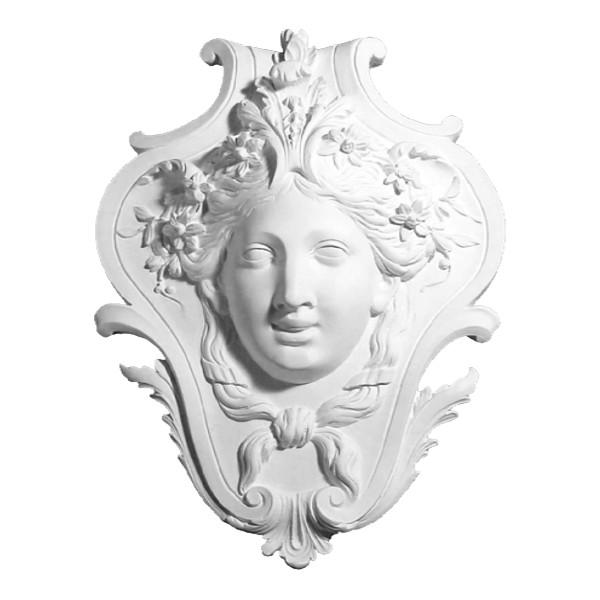 """Sculpture 700 """"Visage jeune fille"""""""