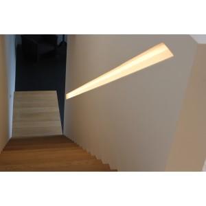 Trapleuning 3020 gips ingebouwd trapleuning met verlichting