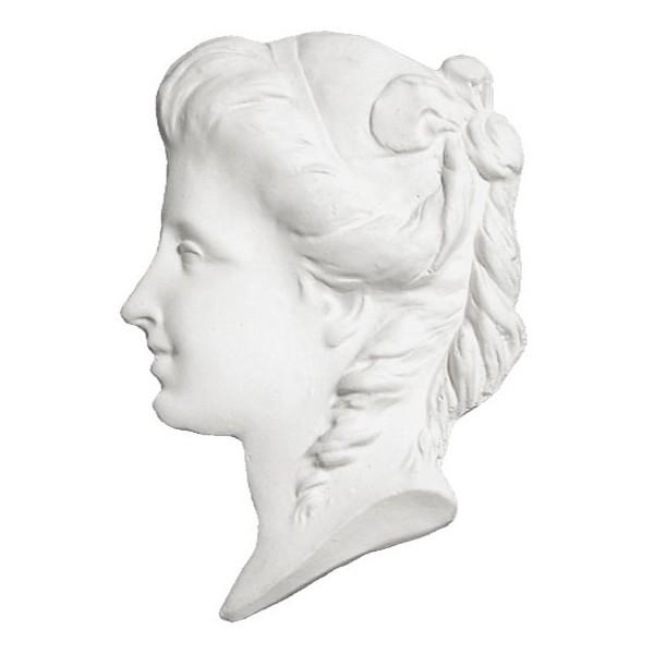 Ornament 734 Lady profile