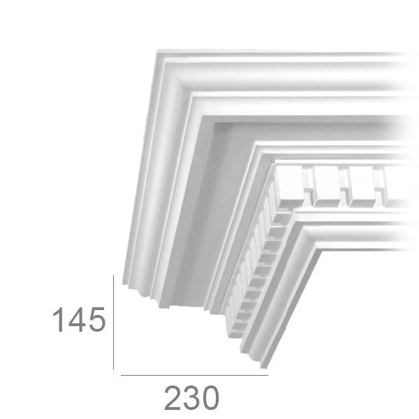 Corniche de plafond 191A BASSA
