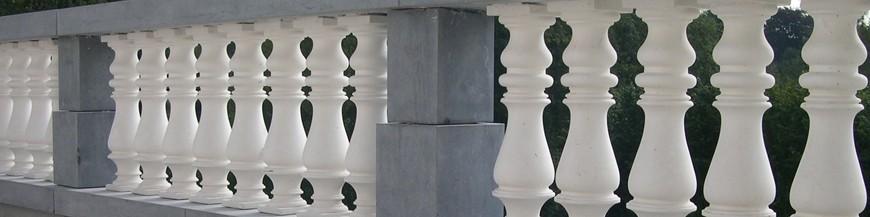 Balustres et décors